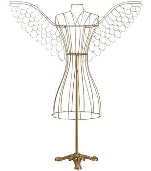 Angel Dressmaker Doll 57''-Antique Gold