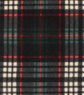 Anti-Pill Fleece Fabric -Marley Plaid
