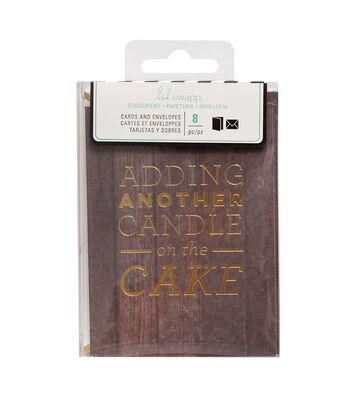 """Heidi Swapp Stationery 3""""x4""""-Cake"""