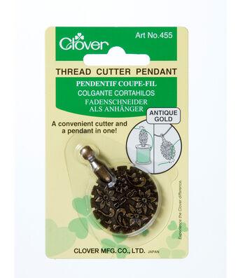Clover Thread Cutter Pendant