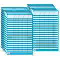 Blue Small Vertical Incentive Chart, Pack of 12