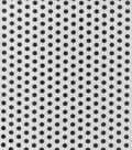 Buttercream Audrey Collection Cotton Fabric-Black Gray Grid