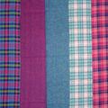 Fat Quarter Bundle Cotton Fabric 18\u0027\u0027-Pink Plaid