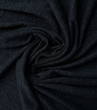 8057196bdb5 Loungeletics Performance Wool Blend Fabric-Heather Black