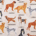 Anti-Pill Plush Fleece Fabric-Show Dog Breeds