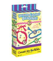 Creativity for Kids Dream Catcher Bracelet Kit, , hi-res