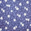 Premium Quilt Cotton Fabric-Sadie Flowers & Vine Blue