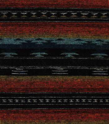 Sportswear Jacquard Fabric-Multicolored Stripes & Aztec