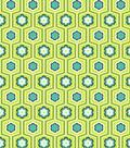 Modkid Studio by Patty Young Cotton Fabric 43\u0022-Flower Trellis