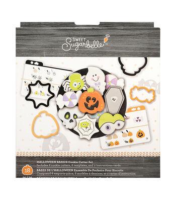 Sweet Sugarbelle Cookie Cutter Set 18/Pkg-Halloween Basics