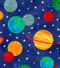 Anti-Pill Fleece Fabric 58\u0022-Solar System