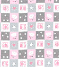 Nursery Flannel Fabric 42\u0022-Dream Big Patch