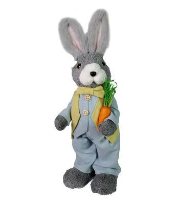 Easter Decor Sisal Boy Bunny-Gray