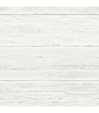 Wallpops Nuwallpaper Peel & Stick Wallpaper-Shiplap