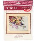 RIOLIS 10.25\u0027\u0027x7.75\u0027\u0027 Counted Cross Stitch Kit-Blackberries