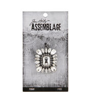 Tim Holtz Assemblage Pendant-Faceted Radiance, , hi-res