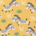 Blizzard Fleece Fabric-Zebra Fun