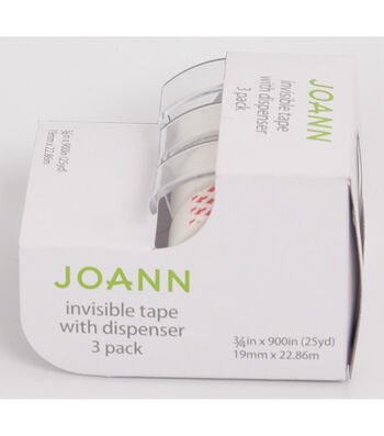 Joann Invisible Tape Dispensers 3pk