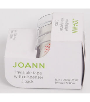 Invisible Tapes with Dispensers 3 pk