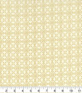 St. Patrick\u0027s Day Cotton Fabric-Cream Celtic Medallions