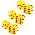 Learning Resources Giant Soft Cubes: Dots, 2 Per Pack, 3 Packs