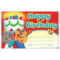 Trend Enterprises Inc. Playtime Birthday Recognition Award, 30 Per Pack