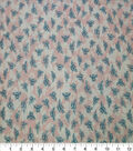 Quilter\u0027s Showcase Cotton Fabric-Bees Coral