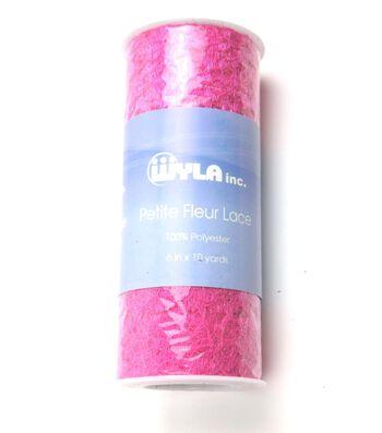 """6""""x10yds Petite Fleur Lace Spools"""