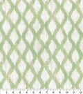 Kelly Ripa Home Upholstery Décor Fabric-Floating Trellis Reed