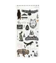 Heidi Swapp Wolf Pack Cardstock Stickers, , hi-res