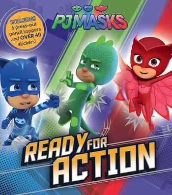 Parragon PJ Masks Ready for Action Activity Book