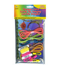 Bungee Cord Super Value Pack 5 Colors/Pkg 15\u0027 Total-Assorted Neons
