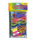 Bungee Cord Super Value Pack 5 Colors/Pkg 15\u0027 Total-Assorted Neons