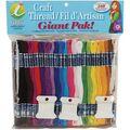 Iris Jumbo Value Pack Cotton Giant Pak! Craft Floss