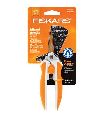 """Fiskars 5"""" Softouch Titanium Nitride Scissors"""