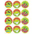 Ribbeting Rewards-Pineapple Stinky Stickers 48 Per Pack, 6 Packs