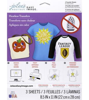 Jolee's Boutique Easy Image 3 pk Heatless Transfer Sheets