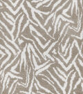 P/K Lifestyles Upholstery 8x8 Fabric Swatch-Animal Kingdom/Shale