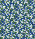 Keepsake Calico Cotton Fabric-Daisy Delight Blue
