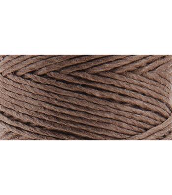 Hemptique #20 205' Hemp Cord Spool-Dark Brown