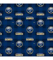 Buffalo Sabres Fleece Fabric-Buffalo Plaid, , hi-res