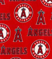 Los Angeles Angels Fleece Fabric-Tossed, , hi-res