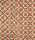 Home Decor 8\u0022x8\u0022 Fabric Swatch-Jaclyn Smith Imogene Garden Spice
