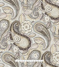 Waverly Upholstery Décor Fabric-Mayan Market Mineral