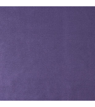 Witching Hour Satin Fabric -Solid Purple