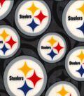 Pittsburgh Steelers Fleece Fabric -Logo