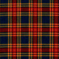 Snuggle Flannel Fabric -Hadley Navy & Red Plaid