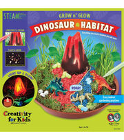 Creativity Grow n' Glow Dinosaur Habitat, , hi-res