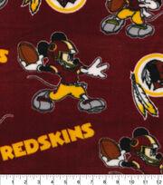 Washington Redskins Fleece Fabric-Mickey Mouses, , hi-res