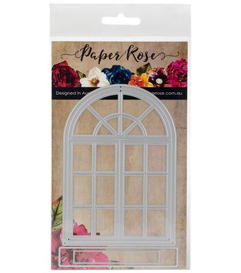 Paper Rose 3 pk Metal Dies-Victorian Arched Window